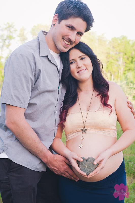southern oregon maternity photo