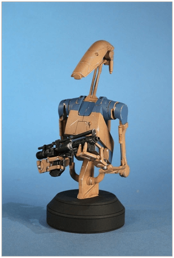 Battle Droid Pilot byst