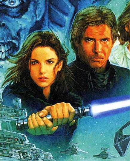 Jaina & Han Solo