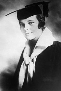Amelia Earhart's High School Graduation Photo
