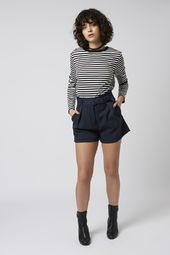 Tailored Paperbag Shorts