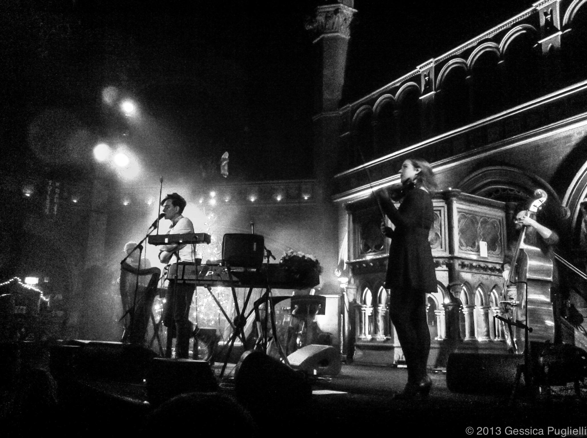 Patrick Wolf live @ the Union Chapel in London