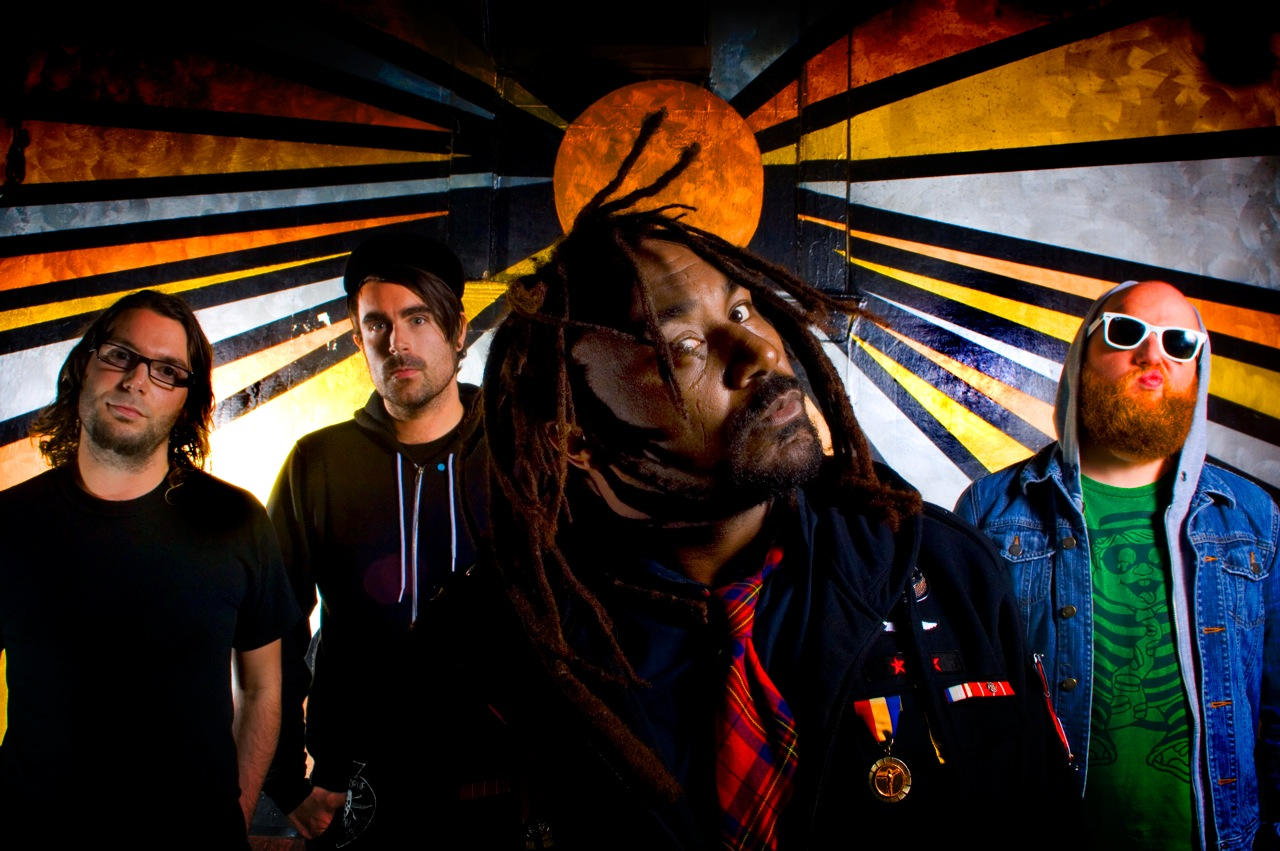 Interview to Benji Webbe of British alternative rock band Skindred