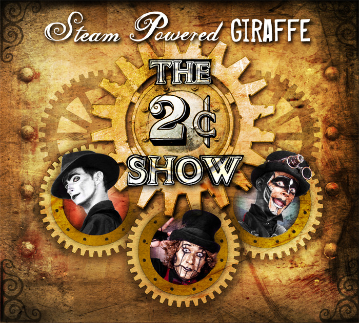 CD Review: The 2 Cent Show by Steam Powered Giraffe