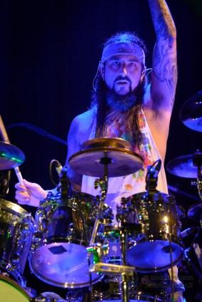 Mike Portnoy - Flying Colors live in London Photo © 2014 Oscar Tornincasa for www.rebelmusic.info