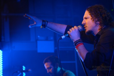 Haken live at The Garage in London Photo © 2014 by Oscar Tornincasa for rebelmusic.info