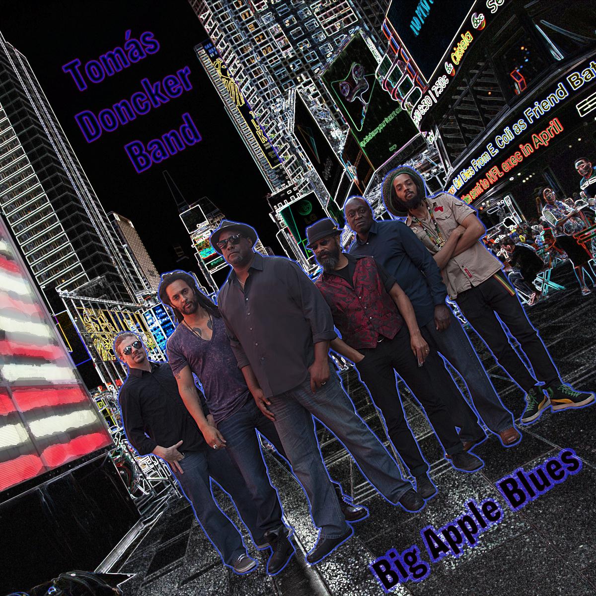 CD Review: Big Apple Blues by Tomás Doncker Band (ft. Yusef Komunyakaa)