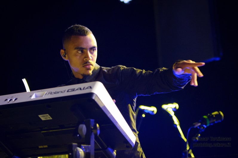 Swindle live in London - Photo copyright by Oscar Tornincasa for rebelrebelmusic.com