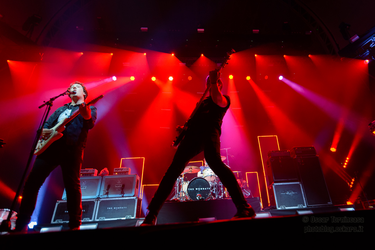 Live review: The Wombats live at Alexandra Palace, London – 01/10/2015