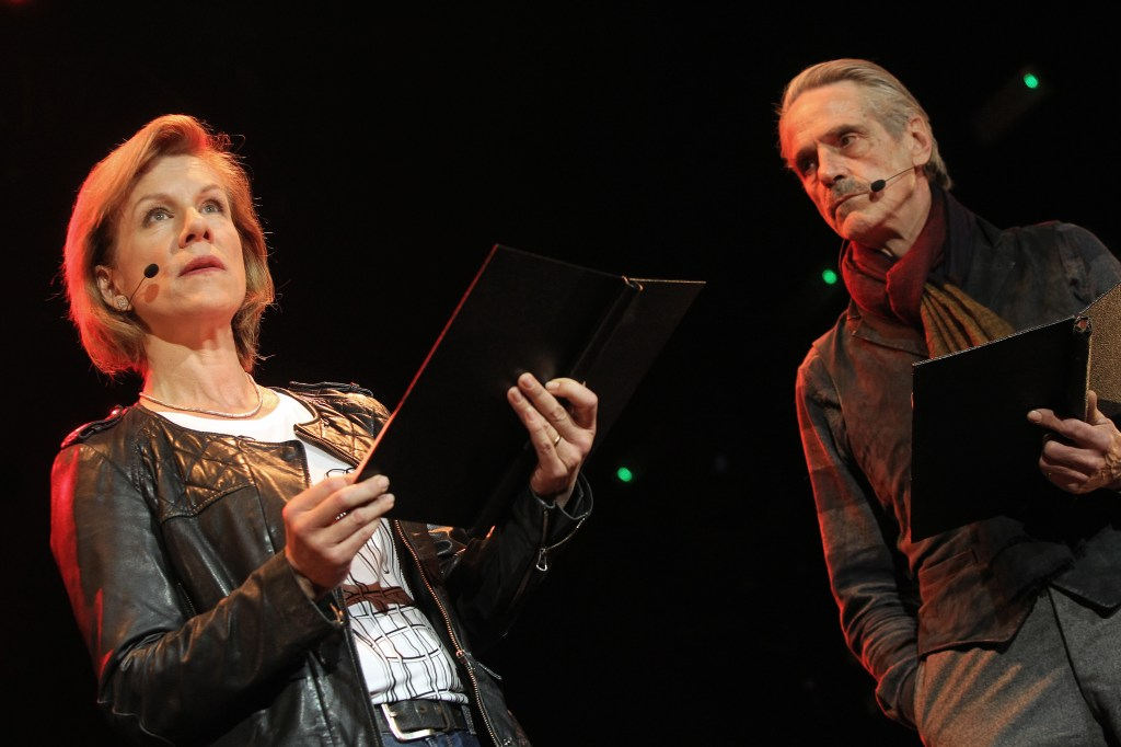 Juliet Stevenson and Jeremy Irons. Photo by Marilyn Kingwill