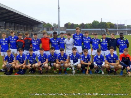 Lord Mayors Cup B Finals Mon 15th May 2017 (1)