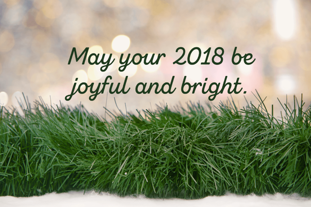 Here's to a blessed new year