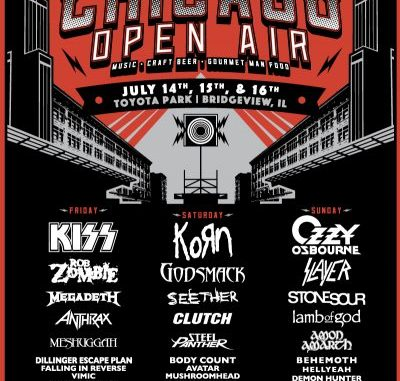 Chicago Open Air tour poster
