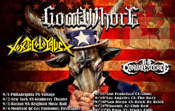 Venom Inc Blood Stained Earth concert poster