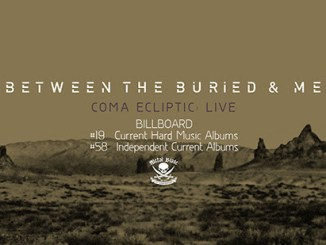"""Between the Buried and Me album cover for """"Coma Ecliptic"""""""