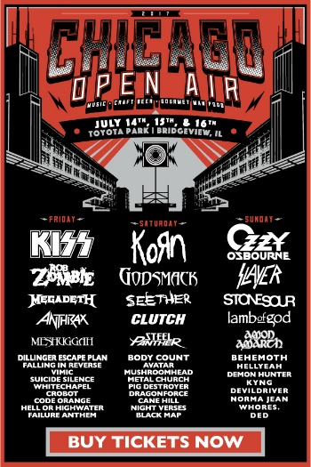 Chicago Open Air promo poster