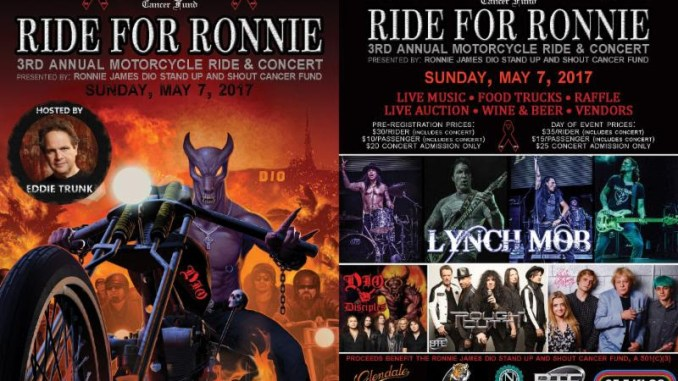 Ride For Ronnie 2017 poster