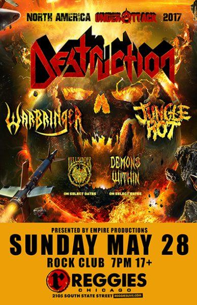 Destruction concert poster