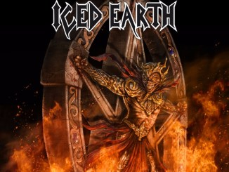 Incorruptible album cover by Iced Earth
