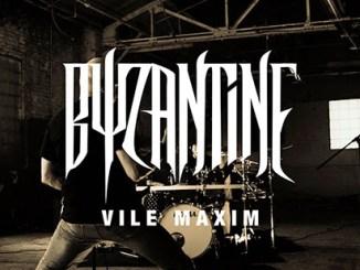 Byzantine Vile Maxim album cover