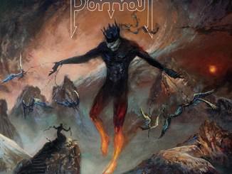 "Portrait album cover for ""Burn the World"""