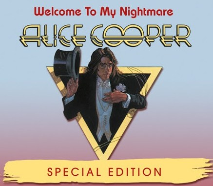 Welcome To My Nightmare Special Edition DVD promo poster