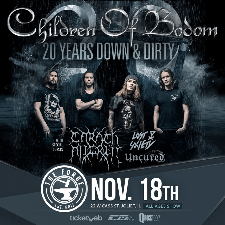Children of Bodom tour poster