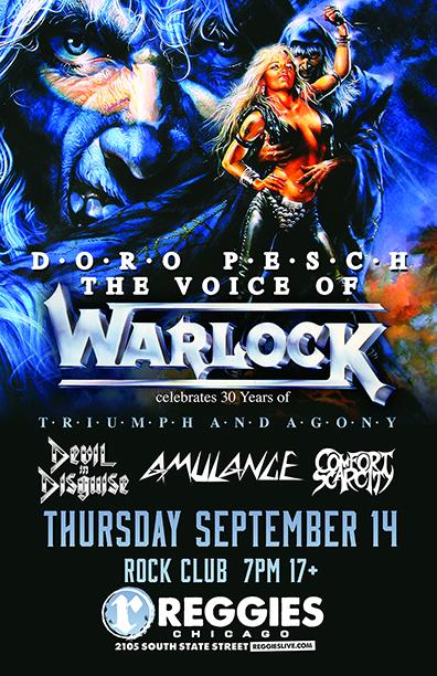 Doro concert poster