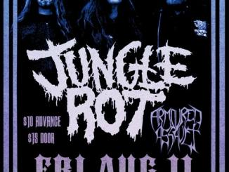Jungle Rot concert poster