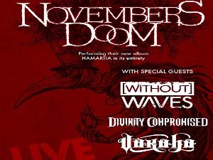 Novembers Doom concert poster
