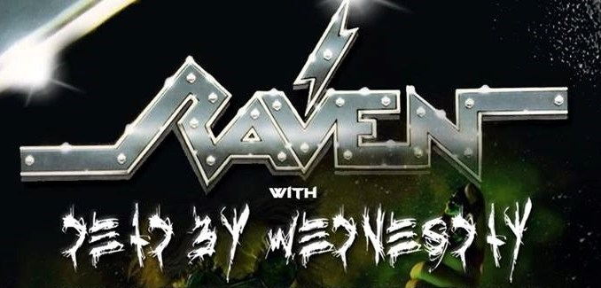 Dead By Wednesday, Raven show banner