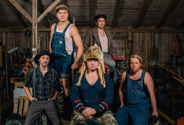 Steve'n'Seagulls group photo