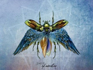 "Zaius album cover for new album, ""Of Adoration"""