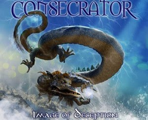 "Consecrator - album cover for ""Image of Deception"" reissue"