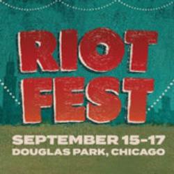 Riot Fest logo, 2017
