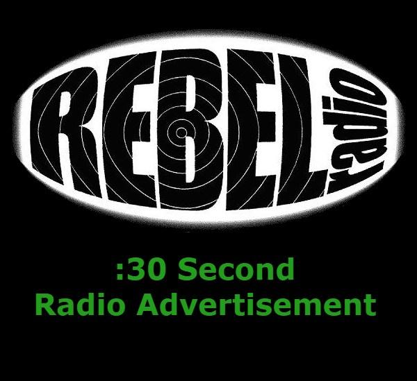 30 second radio ad