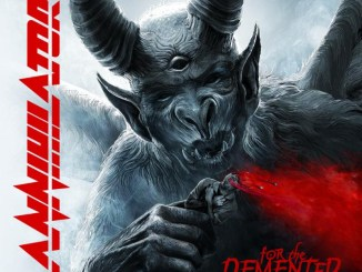 "Annihilator album cover to ""For the Demented"""