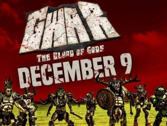 Gwar concert promo for December 9 in Peoria, IL