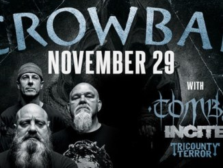 crowbar at the Castle Theatre November 29, 2017 with Tombs, Incite, and Tricounty Terror