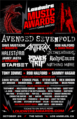 loudwire music awards promo poster