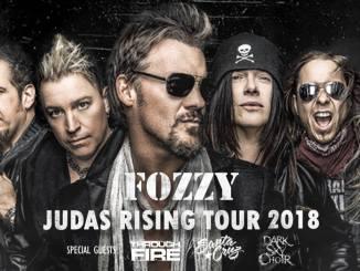 Fozzy Judas Rising 2018