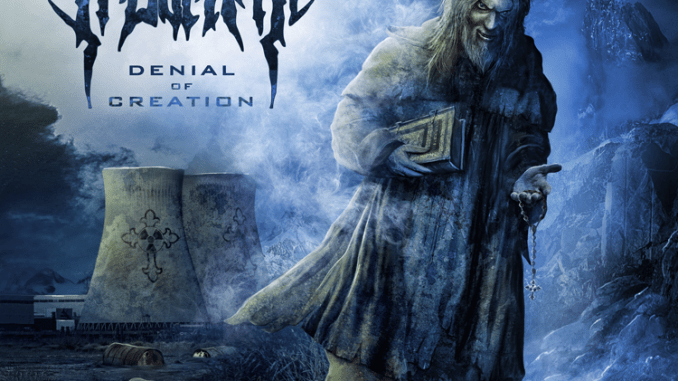 Irdorath Album cover for Denial of Creation, out in 2018