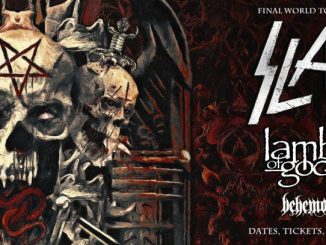 Slayer farewell tour with Lamb of God, Anthrax, Behemoth, and Testament