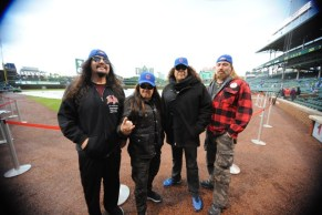 Testament at the Chicago Cubs Game, 2017