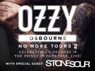 Ozzy StoneSour Tour 2018