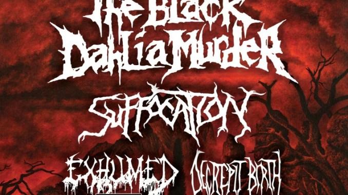 Black Dahlia Murder and Whitechapel embark on North American co-headlining tour