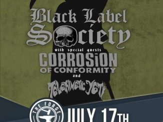 Black Label Society and Corrosion of Conformity at the Forge in Joliet Tuesday, July 17, 2018