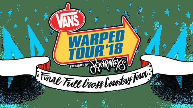 warped tour 2018 Lineup