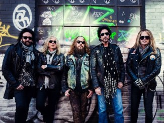 "The Dead Daisies Release Their New Album, ""Burn It Down"""