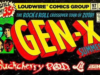 Gen X Tour, 2018 featuring P.O.D., Buckcherry, Lit, and Alien Ant Farm